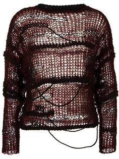 open knit jumper Isabel Benenato
