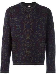 floral crew neck sweater Antonio Marras