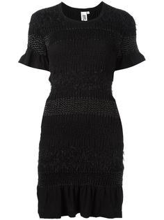 приталенное трикотажное платье Comme Des Garçons Noir Kei Ninomiya
