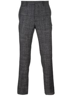 клетчатые брюки чинос Salvatore Ferragamo