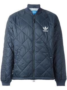 куртка-бомбер 'Quilted Superstar' Adidas Originals