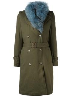 collar detail coat Forte Couture