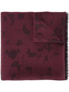 шарф с необработанными краями Lanvin