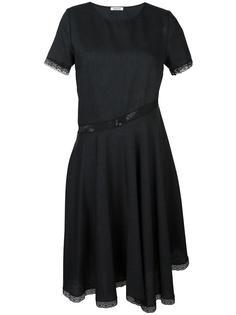 расклешенное платье с кружевной отделкой P.A.R.O.S.H.