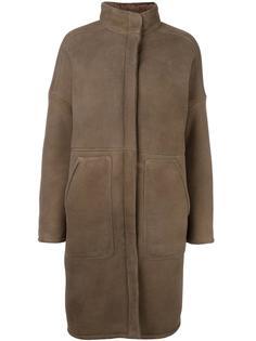 пальто кроя миди  32 Paradis Sprung Frères