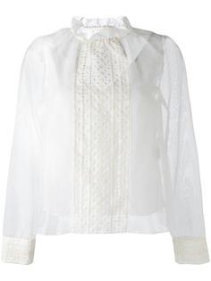 блузка с вышивкой See By Chloé
