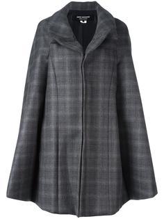 пальто в клетку на молнии Junya Watanabe Comme Des Garçons