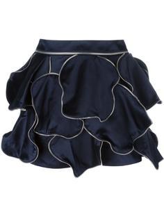 мини-юбка с окантовкой из молний J.W.Anderson