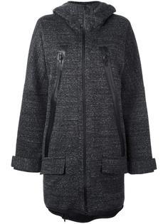 hooded oversized parka coat Y-3