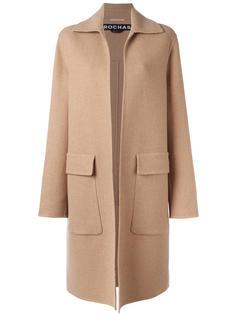 пальто с карманами с клапанами Rochas