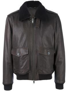 куртка с воротником из овчины Desa Collection