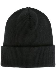 классическая шапка-бини в рубчик Dsquared2