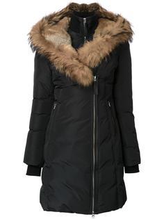 пальто-пуховик с капюшоном Mackage