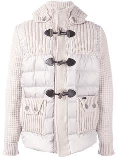 текстурированное пальто-пуховик Bark