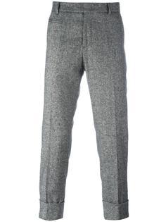 строгие брюки кроя слим Paolo Pecora