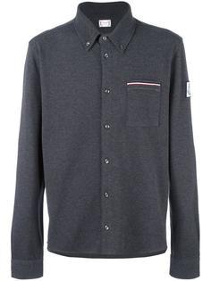 рубашка-поло с длинными рукавами Moncler Gamme Bleu