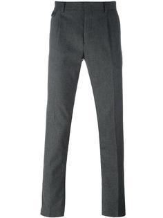 брюки кроя слим Paolo Pecora