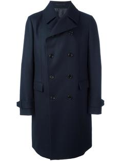 double breasted coat Z Zegna