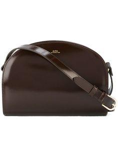 средняя сумка через плечо 'Demilune'  A.P.C.