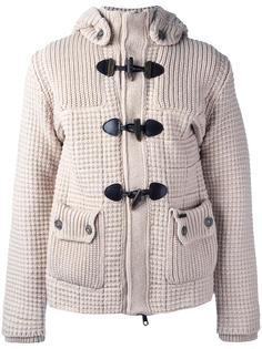 пальто-дафлкот с капюшоном Bark
