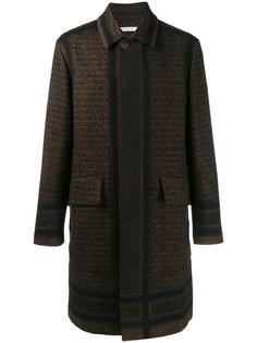 пальто с принтом  Givenchy