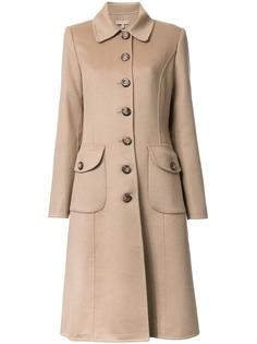 buttoned mid coat Michael Kors