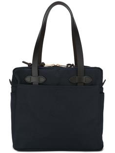 zip up tote bag Filson
