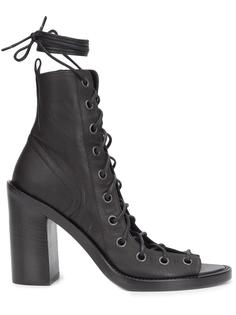 open lace-up boots Ann Demeulemeester Icon