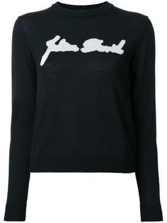 свитер с принтом Julien David