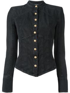 джинсовая рубашка Balmain