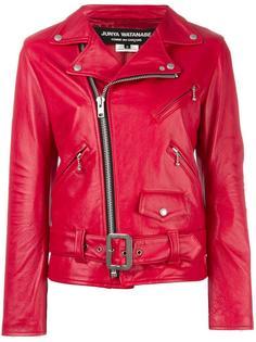 байкерская куртка с поясом Junya Watanabe Comme Des Garçons