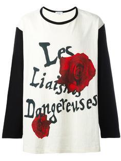 футболка 'Les liasons dangereuses' Yohji Yamamoto