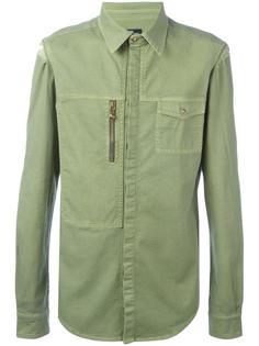 рубашка с накладными карманами Versus