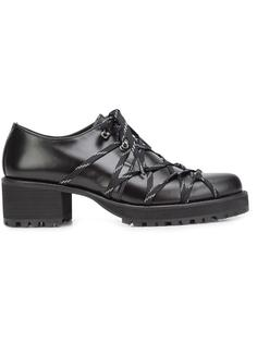 elasticated lace-up shoes Yohji Yamamoto