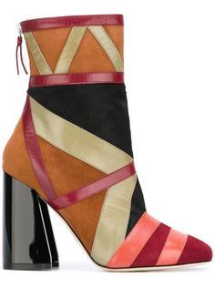 jacquard ankle boots Paula Cademartori