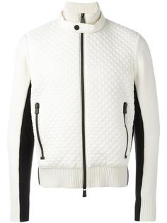 bicolour zipped cardigan Moncler Grenoble