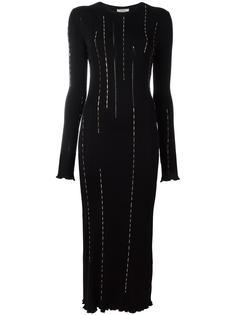 embellished longsleeved dress Nina Ricci