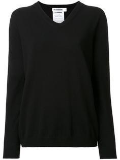 свитер c V-образным вырезом   Jil Sander