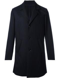 пальто с заостренными лацканами Paolo Pecora