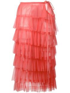 pleated ruffle dress Comme Des Garçons Vintage