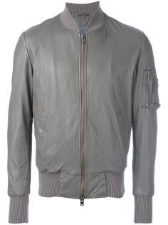 куртка-бомбер на молнии Giorgio Brato