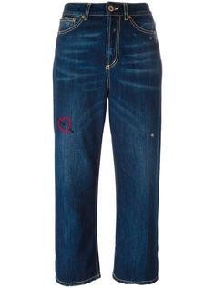 укороченные джинсы свободного кроя Dondup