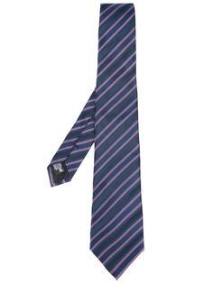 полосатый галстук Armani Collezioni