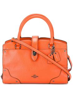 zip up tote bag Coach