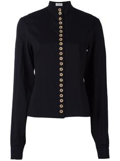 contrast button blouse  Lemaire