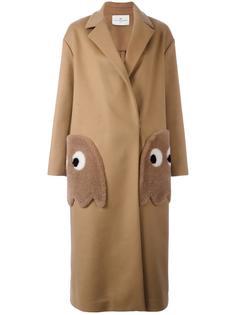 объемное пальто 'Ghosts' Anya Hindmarch