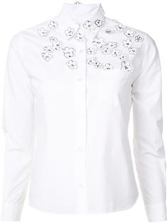floral embroidered detail shirt Jimi Roos