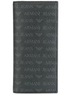 визитница с логотипом Armani Jeans