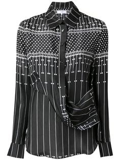 printed draped shirt Carven