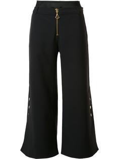 wide leg cropped trousers Ellery